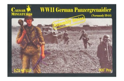 1/72 German panzergrenadier Normandy assembly series