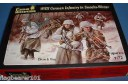 1/72 WWII German infantry in smocks winter (no box)