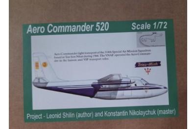 1/72 Aero Commander 520 South Vietnam Airforce (full resin kit)