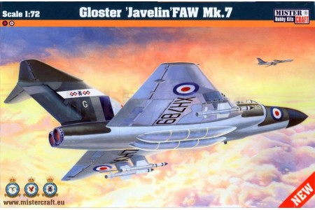 1/72 Gloster Javelin FAW Mk7