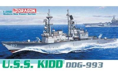 1/350 USS Kidd DDG-993