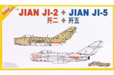 1/72 Ji-2 & Ji-5 (Mig-15 China & Mig-17 Vietnam)