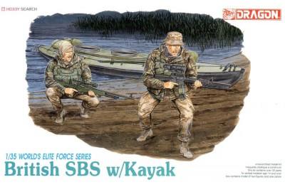 1/35 British SBS w/ Kayak