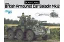 1/35 British Amoured car Saladin MK2