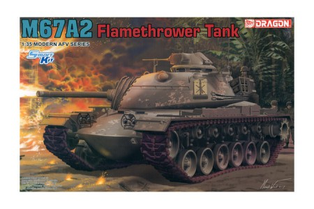 1/35 M-67A2 Flamethrower tank (Smart kit)