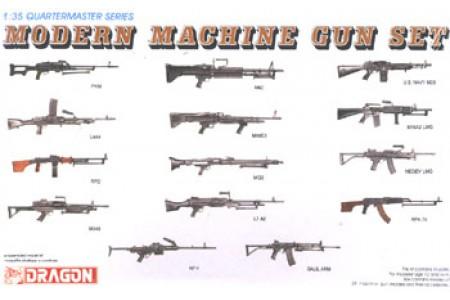 1/35 Modern machine gun set