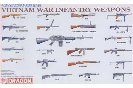 1/35 Vietnam War Infantry Weapons