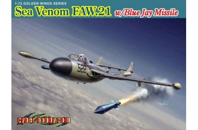1/72 Sea Venom FAW 21 w/ blue jay missile