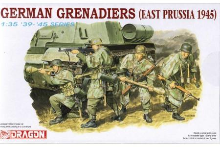 1/35 German Grenadiers