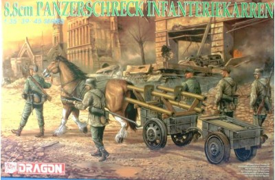 1/35 8.8cm panzerschreck infanteriekarren