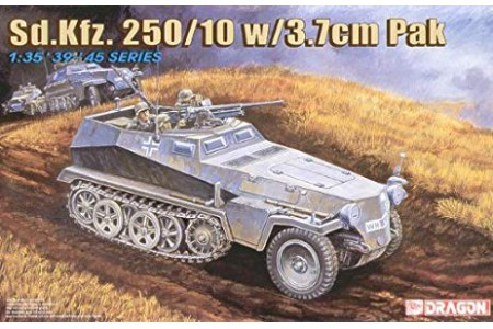1/35 Sdkfz 250/10 with 3.7cm Pak