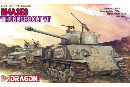 1/35 M4A3E8 Sherman Thunderbolt VII