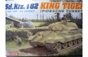 1/35 Sdkfz 182 King tiger Porse turret