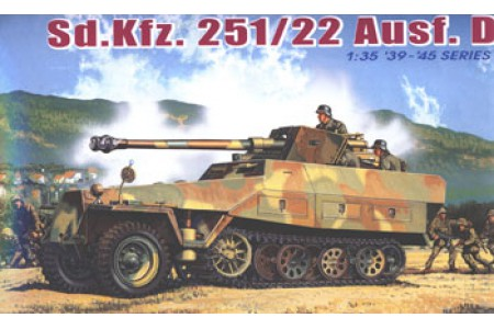 1/35 Sdkfz 251/22 Ausf D