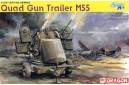 1/35 Quad gun trailer M-55