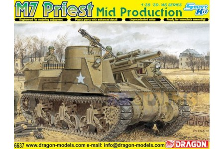 1/35 M7 Priest Mid production Smart kit