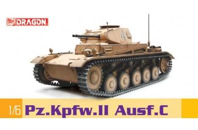 1/6 Pzkpfw II Ausf C tank