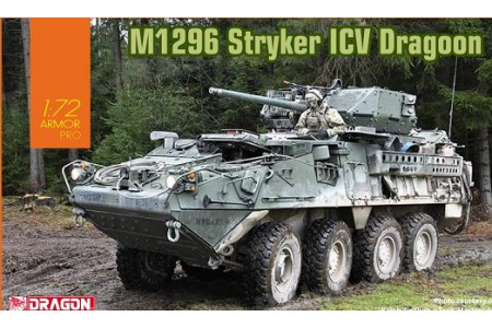 1/72 M1296 Stryker ICV Dragoon
