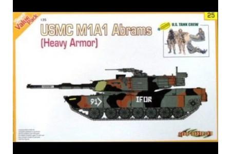 1/35 USMC M-1A1 Abrams w/ crew