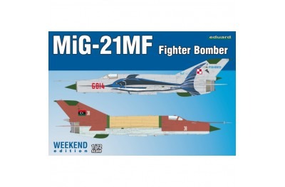 1/72 MiG-21MF Fighter bomber Weekend edition