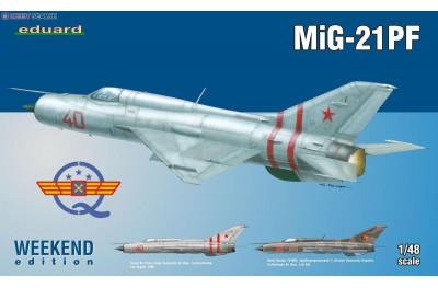 1/48 MiG-21PF Weekend Weekend edition