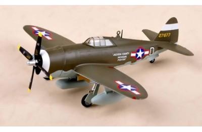 1/72 US P-47D Razor back (prebuilt)