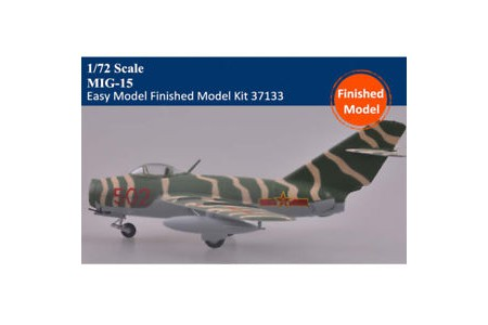 1/72 Chinese MiG-15Bis Korean war (prebuilt)