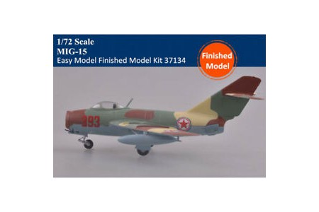1/72 North Korean MiG-15Bis Korean war (prebuilt)
