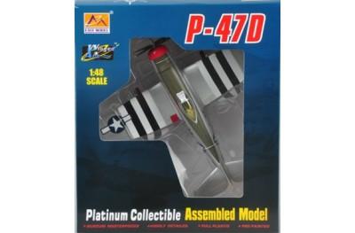 1/48 P-47D Teardrop canopy (prebuilt)