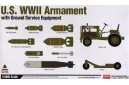 1/48 US ground service equipment with armament