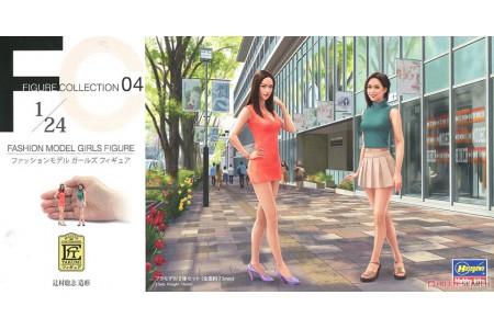 1/24 Asian fashion model girls figure