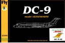 1/144 DC-9 DHL cargo plane