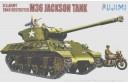 1/76 (1/72) M-36 JACKSON W/ US MOTORCYCLE