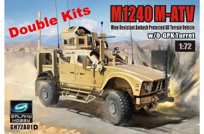 1/72 M1240 M-ATV (2 pcs)