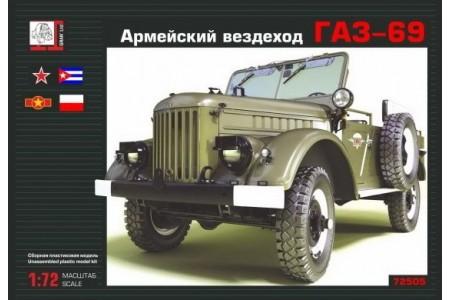 1/72 Gaz-69 Vietnam army car