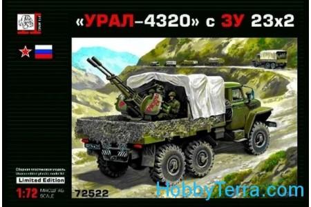 1/72 Ural 4320 with Zu-23