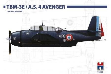 1/72 French Navy TBM-3E/ AS. 4 Avenger