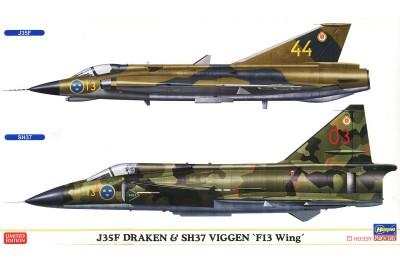 1/72 J-35F Draken & SH-37 Viggen
