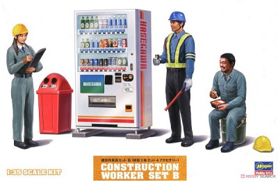 1/35 Construction workers set B (WM-06)