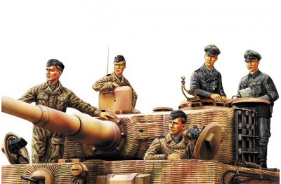 1/35 German tank crew Normandy