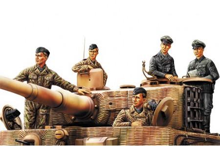 1/35 German tank crew Normandy