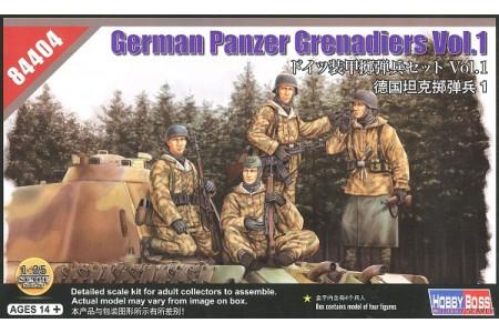 1/35 German Panzer grenadiers vol 1