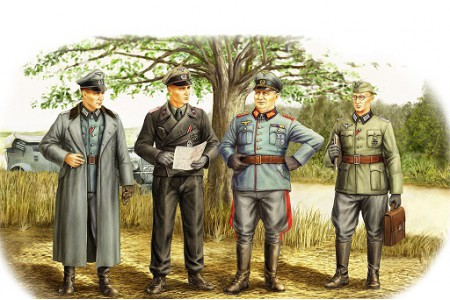 1/35 German officers field session