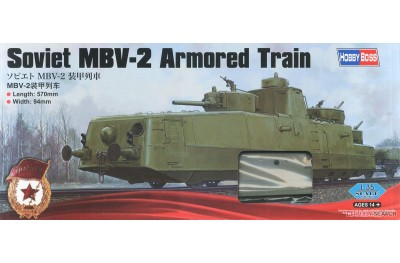 1/35 Soviet MBV-2 Armored train