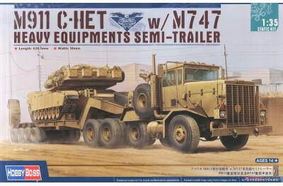 1/35 M-911 C-HET w/ semi trailer