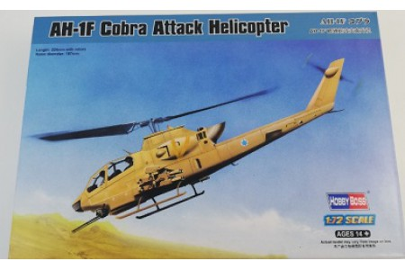 1/72 AH-1F Cobra attack helicopter