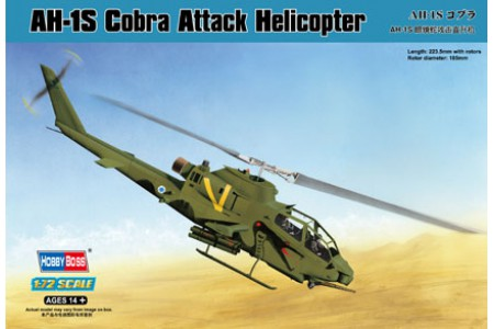1/72 AH-1S Cobra attack helicopter