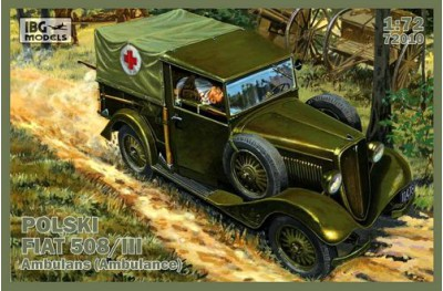 1/72 Fiat 508/III Ambulance WWII