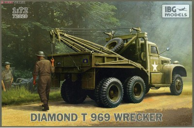 1/72 Diamond T-969 wrecker