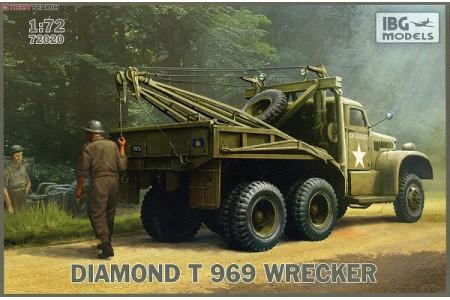 1/72 Diamond T-969 wrecker